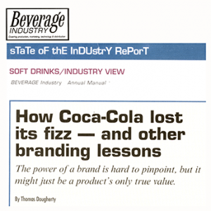 Coke branding lessons from Beverage Industry Insider
