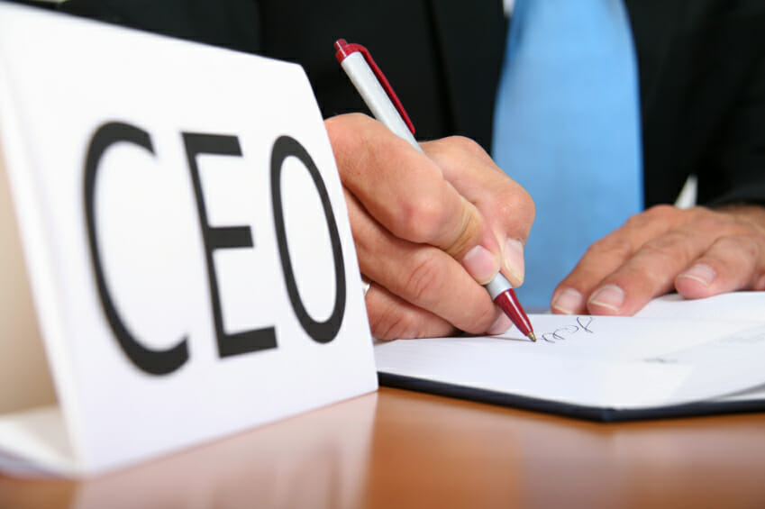 CEO Brand leadership. The province of the CEO