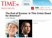 Consumer changes time magazine