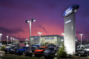 It's not the Ford brand carrying sales. It's the models.global automobile market