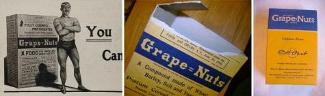 Breakfast cereal Grape nuts