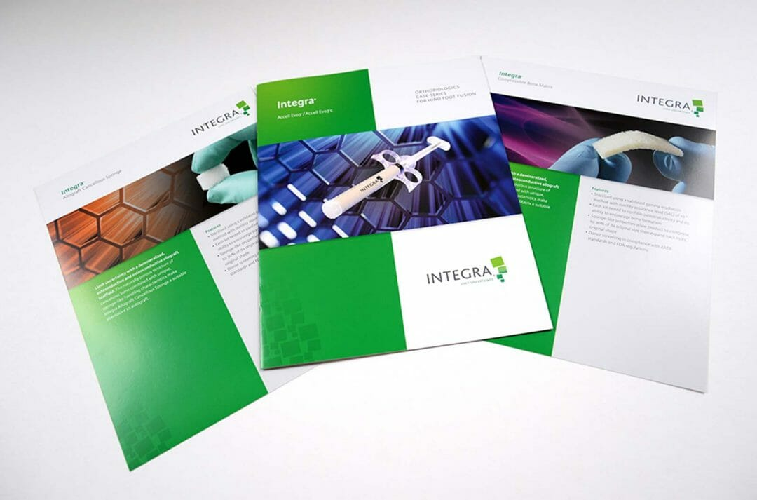 Integra brochure system developed by Stealing Share
