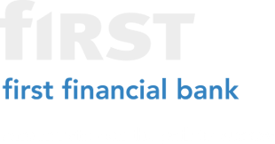 First Financial Bank logo developed by Stealing Share