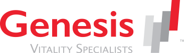Genesis HealthCare logo developed by Stealing Share
