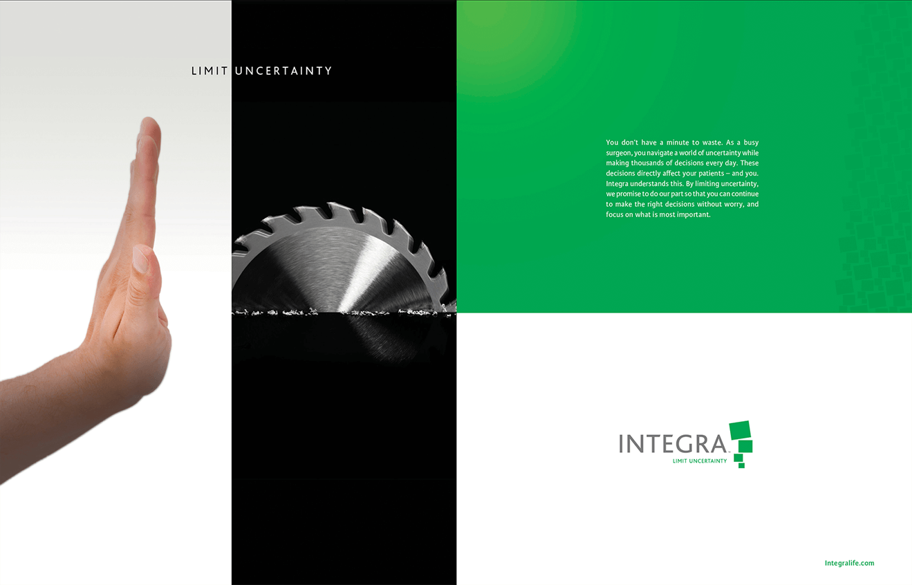 Integra ad developed by Stealing Share