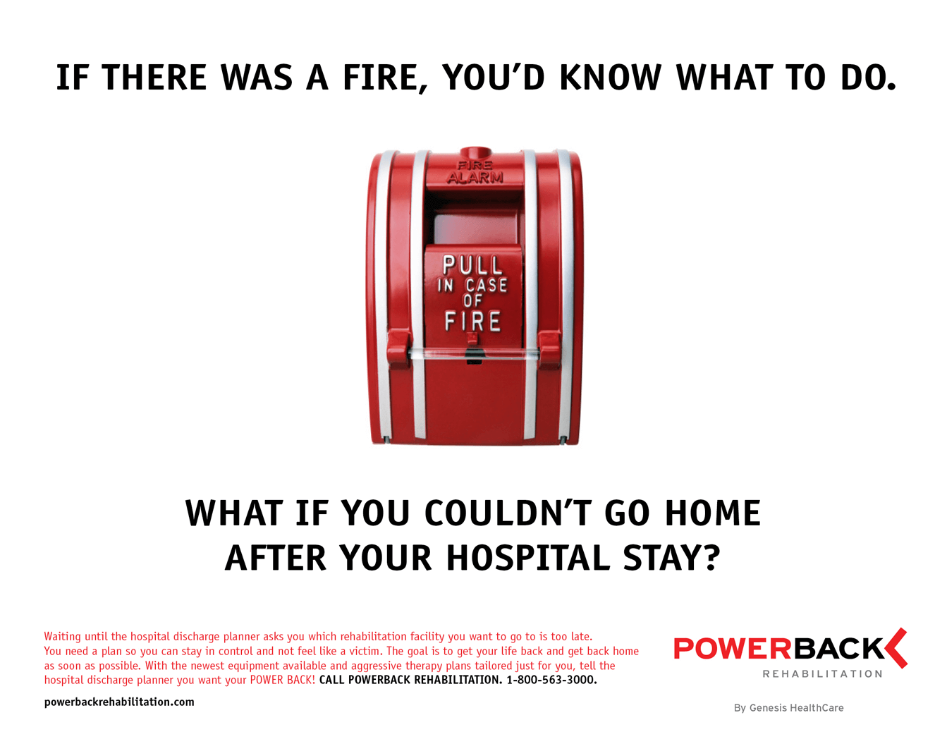 Powerback Rehabilitation ad By Stealing Share