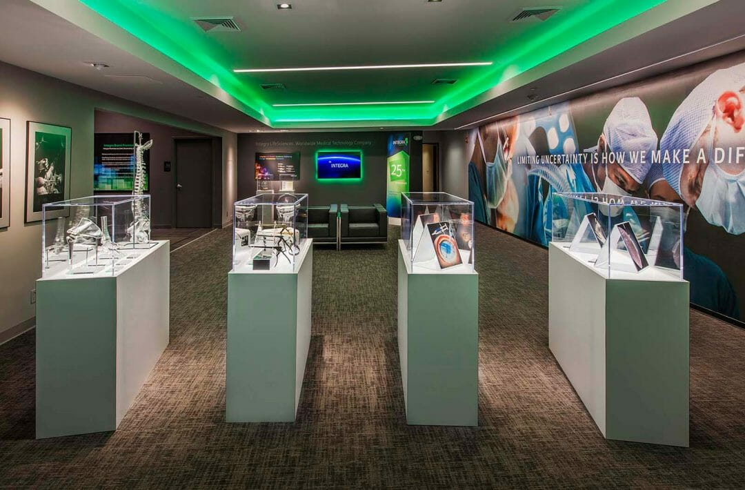 integra HQ lobby interior developed by Stealing Share