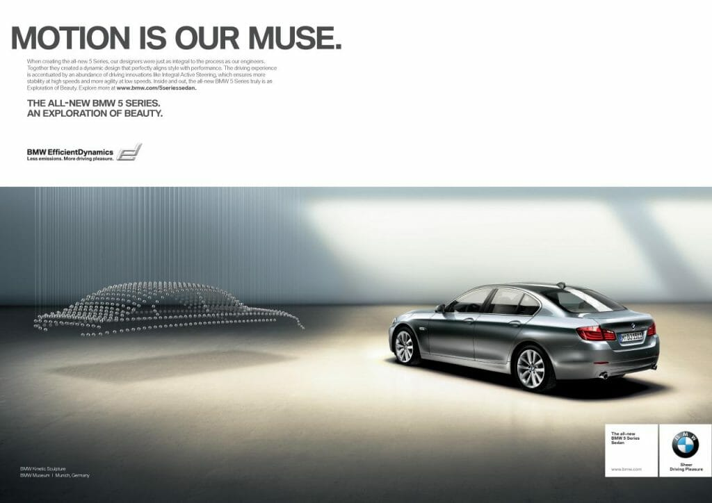 BMW 5 Series Motion is our muse