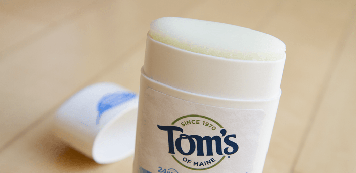Tom's of Maine deodorant doesn't work. And I desperately want it to.