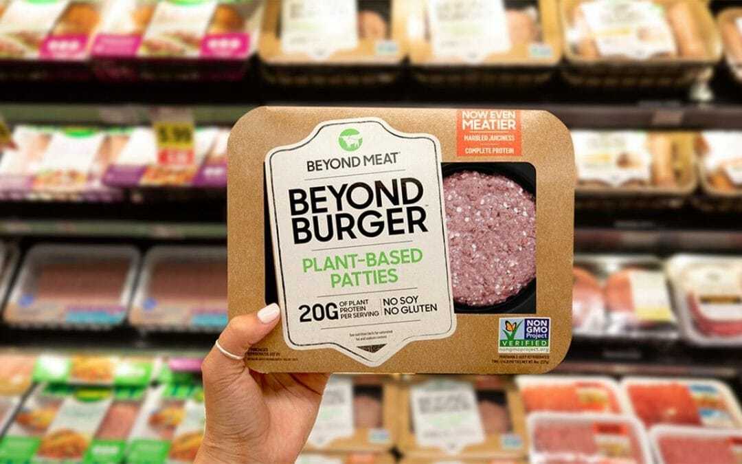 Beyond Meat ad shows progress, but miles to go