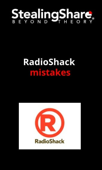 Radio Shack Web Story