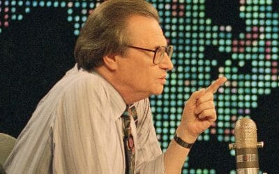 News media and Larry King: How times have worsened