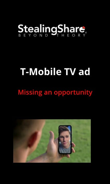T-Mobile TV Ad Web Story